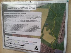 Stafford Trail map