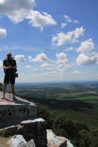 On top of the world (or at least on top of Maryland)!