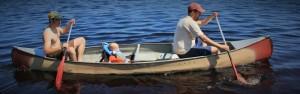 Paddling Lake Oswego.
