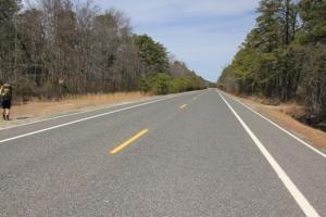 Crossing Rt 679.