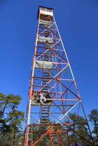 Apple Pie Hill Fire Tower.