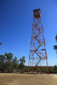 Fire tower.