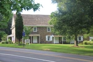 Evesham Friends Meeting House.