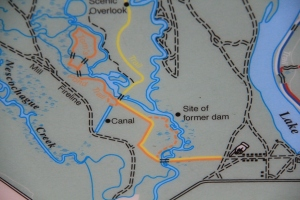 Trail Map (orange trail).