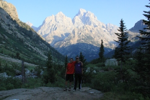 Grand Teton National Park - Wyoming.  Best Scout trip ever.