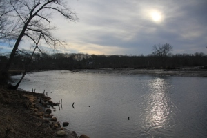 Rancocas Creek from the Yellow Trail.