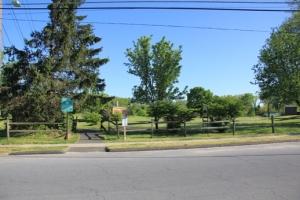 Trailhead at McGill Ave.