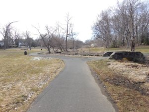 Nice, paved trail.