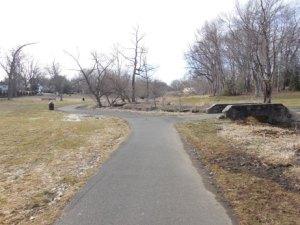 Nice, paved trail.