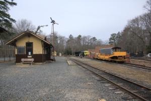 Railroad area.