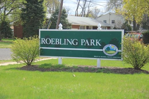 Spring Lake Trail - Roebling Park - Hamilton Township, NJ - South