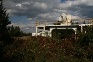 Radar site.