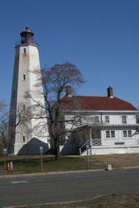 Lighthouse and visitor's center.