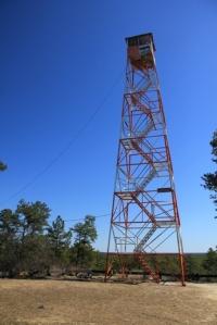 Apple Pie Hill fire tower.