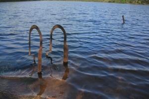 Old swim area?