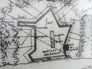 Layout of the fort.