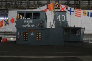Fake aircraft carrier.