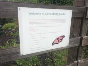 Butterfly garden entrance.