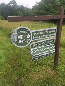 This trail brought to you by these fine, civic-minded organizations.