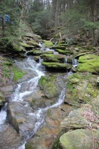 Nice little waterfalls.