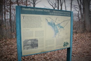 Old welcome sign, the preserve has since been renamed.