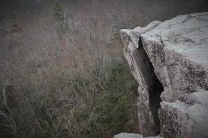 Cat Rocks at mile 9.9.