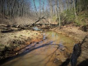 Creek looks nice here too.