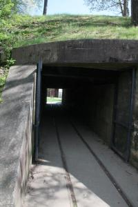 Immediately after is the ammunition tunnel.