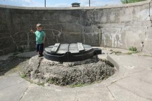Last gun emplacement on this part of the fortifications.