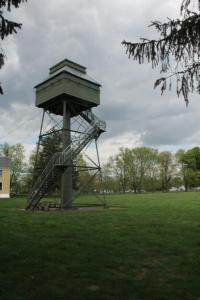 Observation tower.