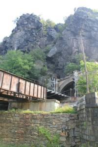 Impressive railroad tunnel.