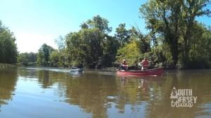How canoeing looks.