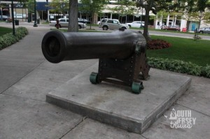 In a little park in Petosky sits one of Admiral David Farragut's cannon from his flagship in the Civil War. Damn the torpedoes, full speed ahead!