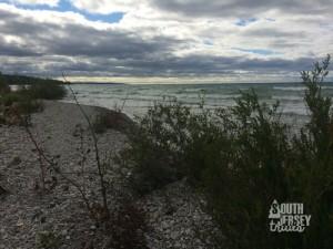 Michigan's lakeshore.