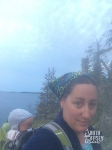 Early morning hike selfie.