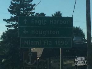 Boy, are we north!