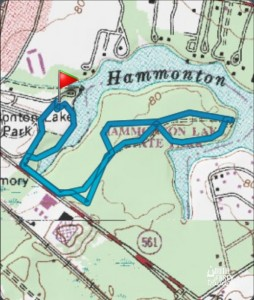Hammonton Lake Map