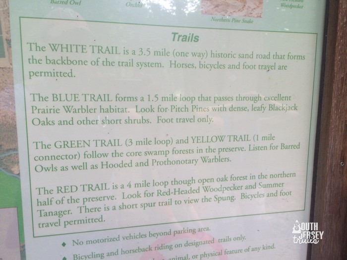 hubertraildescriptions